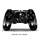 247Skins - Sticker de Protection pour Manette PS4 PlayStation 4 Sony - Reaper Black