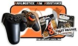 "AAA-Shocks: Analogstick Aim Assistance (Amortisseur pour les Jeux FPS - Made in Switzerland) ""uggly orange infantry"" Edition Kit pour PlayStation ..."