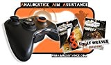 "AAA-Shocks: Analogstick Aim Assistance (Amortisseur pour les Jeux FPS - Made in Switzerland) ""uggly orange infantry"" Edition Kit pour Xbox ..."