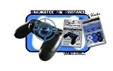 AAA-Shocks: Analogstick Aim Assistance (Amortisseur pour les Jeux FPS - Made in Switzerland) Veterans Edition STARTER Kit pour PlayStation 4