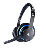 Bigben Interactive Casque jeu SONY PS4 Casque audio - casques audio (Game console + PC/Gaming, Binaural, Bandeau, Noir, Bleu, Avec ...