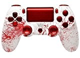 """Bloody Splatter"" Ps4 Rapid Fire Custom Modded Controller 35 Mods COD BO3, Advanced Warfare, Destiny, Ghosts Quick Scope Auto Run ..."