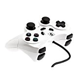 BranderyB - Manette Shock Playstation 2 / PS2 Blanche