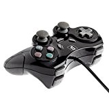 BranderyB - Manette Shock PlayStation 2 / PS2 Noire