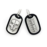 CALL OF DUTY Ghosts Skull Metal Dog Tag (GE2051)