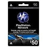 Carte Psn Live 50$ (Reseau Us)
