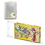 Childhood 20Pcs Clear Box Case Sleeve CIB Protector for Nintendo NES Games Cartridge Box