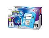 Console Nintendo 2DS : bleu + Pokémon Lune Préinstallé - édition speciale