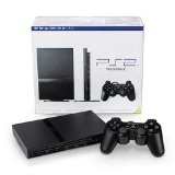console playstation 2 slim noir PS2 slim noir