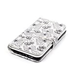 Coque Etui pour Galaxy A3 (2016), Galaxy A3 (2016) Portefeuille Cuir Coque Housse, Galaxy A3 (2016) PU Leather Case Wallet ...