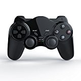 CSL - Manette de jeu pour PlayStation 2 (PS2) | sans fil / wireless | Dual Vibration compris | Manette ...