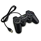 Fheimin® Dual shock Double Vibration Telecommande Manette Controller Pour Playstation 3 Game Pad Remote Sony PS3 PS 3
