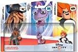 "Figurine ""Disney Infinity"" - pack de méchants (Léon, Syndrome, Davy Jones)"