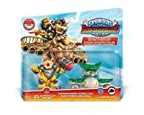 Figurine Skylanders : Superchargers - Dual Pack - Hammer Slam Bowser + Clown Cruiser