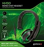 Gioteck XH50 Micro Casque Mono Chat pour Xbox One - vert
