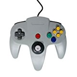 KOO Interactive - Manette Grise N64 pour Console Nintendo 64