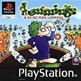 Lemmings and Oh No! More Lemmings (PS) [import anglais]