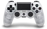 Manette Dual Shock 4 pour PS4 - Crystal