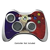 Manette Xbox 360 Peaux Jeux Xbox 360 Vinyle Autocollants Xbox 360 Décalcomanies - French Flag