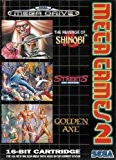 MEGA GAMES 2 : The revenge of Shinobi + Streets of Rage + Golden Axe