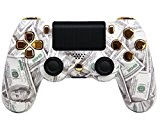 """Money Talks Gold"" PS4 Rapid Fire Modded Controller for COD Black Ops3, Infinity Warfare, AW, Destiny, Battlefield: Quick Scope, Drop ..."