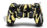 "Motif Design Skin pour Sony PS4 Controller: ""Black Shark Camo"" (Lot de 2)"