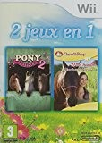 PACK 2 JEUX Wii PONY FRIENDS 2 + MON HARAS