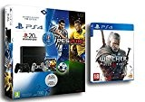 Pack PS4 1To + PES Euro 2016 + 2ème manette - 20eme anniversaire + The Witcher III