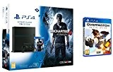 Pack PS4 1To + Uncharted 4: A Thief's End + Overwatch