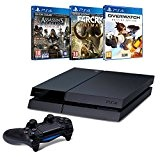 Pack PS4 500Go + Overwatch + Far Cry Primal + Assassin's Creed : Syndicate