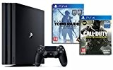 Pack PS4 Pro 1To + Call of Duty : Infinite Warfare + Rise of the Tomb Raider