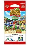 "Paquet de 3 cartes : ""Animal Crossing"" - New Leaf Welcome amiibo"