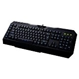 Perixx PX-2000FR, Clavier gaming programmables - Clavier filaire - 6 touches programmables - Port USB - Bleu LED Retro eclaire ...