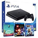 Playstation 4 PS4 Slim 1To ENFANTS PACK 3 jeux! Lego Star Wars: le Réveil de la Force + Ratchet & ...