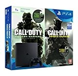PlayStation 4 Slim (PS4) 1TB - Console + Call Of Duty: Infinite Warfare + Call Of Duty: Modern Warfare Remastered
