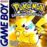 Pokémon jaune édition spéciale Pikachu
