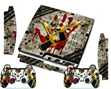 PS3 Skins Jeux PS3 Stickers Console Sony PS3 Vinly Decals for Playstation 3 Slim Système - Ops Ghost