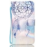 QSY® Samsung Galaxy S6 Edge Plus PU Cuir Portefeuille Longe Coque silicone Etui Strass etui Case Cas Cuir Housse Leather ...