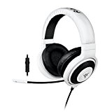 Razer Kraken Pro 2015 - Over-Ear Casque Gaming Headset Analogique, Over-Ear Casque Gamer pour PC et PS4, Blanc