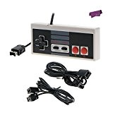 SalesLa Controller + 2 Pcs Cordon de câble d'extension pour 2016 NES Classic Edition Mini