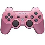 Sony DualShock 3 Rose Bonbon (PS3) - Manette sans Fil DualShock 3 (PS3)