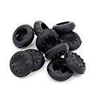 Stillshine prise de pouce thumb grip silicone caps pour PS2, PS3, PS4, Xbox 360, Xbox One, Wii U Manette (Black ...