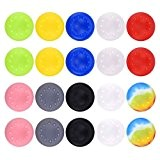 Stillshine prise de pouce thumb grip silicone caps pour PS2, PS3, PS4, Xbox 360, Xbox One, Wii U Manette (Colour ...