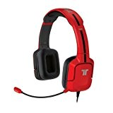 TRITTON Kunai Casque Gaming Stéréo pour Wii U / N3DS compatible Wii U / N3DS - Rouge glossy
