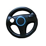Volant Wheel pour Wii Mario Kart racing game-Noir