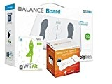 Wii Balance Board + Wii Fit + sleeve